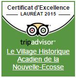 Trip Advisor Le Village Historique Acadien de la Nouvelle-Ecosse